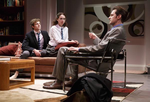 Ben Rosenfield, Zoe Kazan and Richard Armitage Photo